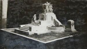 Dovere Italico bozzetto dello scultore G.B. Ricci