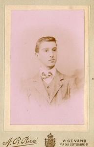 Carlo Dondè adolescente