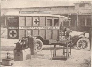 ammbulanza radiologica C.R.I. 1917 - 02
