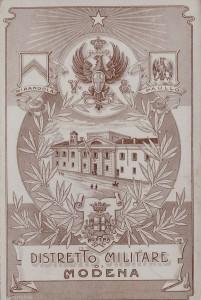distretto militare di Modena