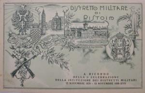 distretto militare di Pistoia
