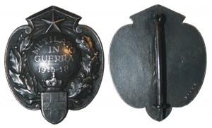 Spilla Mutilati e Invalidi Guerra 1915 - 18