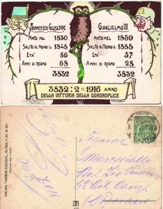 1916 - Anno della vittoria della quadruplice