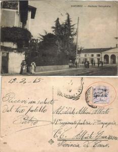 Cartolina indirizzata al caduto Albini Alberto