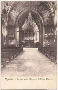 Interno Chiesa di S. Pietro Martire