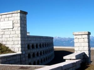 Entrata del Cimitero Austro-Ungarico