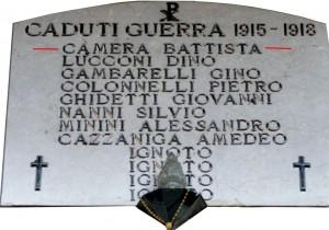 Lapide Cimitero Sassuolo