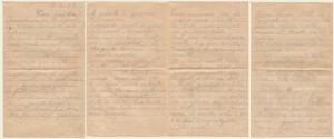 Lettera del 17 luglio 1917