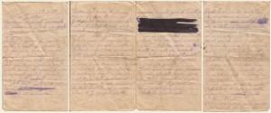 Lettera del 19 luglio 1917