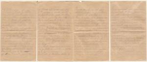 Lettera del 22 luglio 1917
