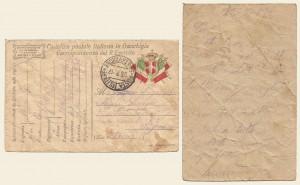 Cartolina postale in franchigia del 23 luglio 1917
