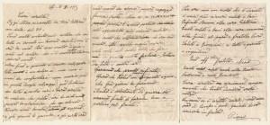 Lettera del 3 agosto 1917