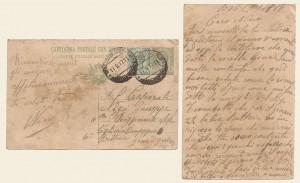 Cartolina postale del 15 settembre 1917
