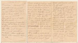 Lettera del 22 settembre 1917
