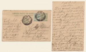 Cartolina postale del 25 ottobre 1917