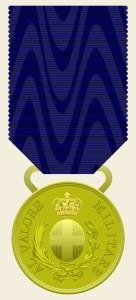 Medaglia d'oro al Valore Militare