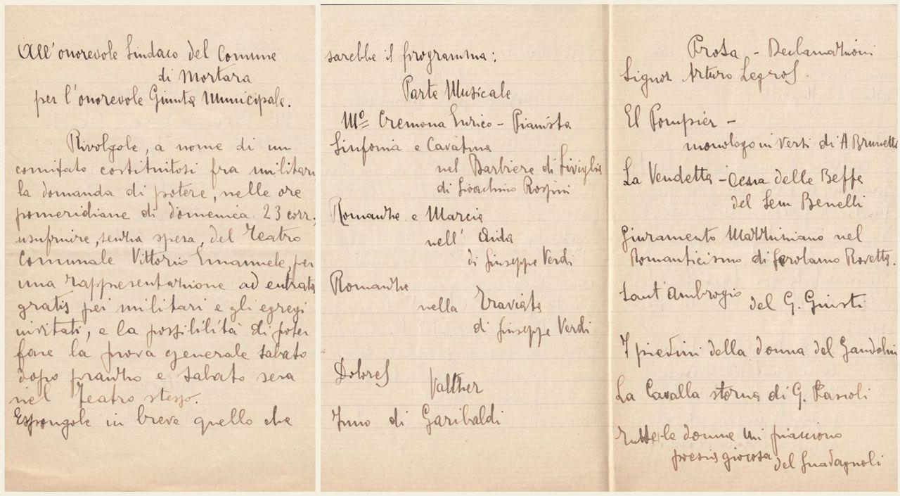 lettera di Amedeo Marzocchi 19 gennaio 1916 -1