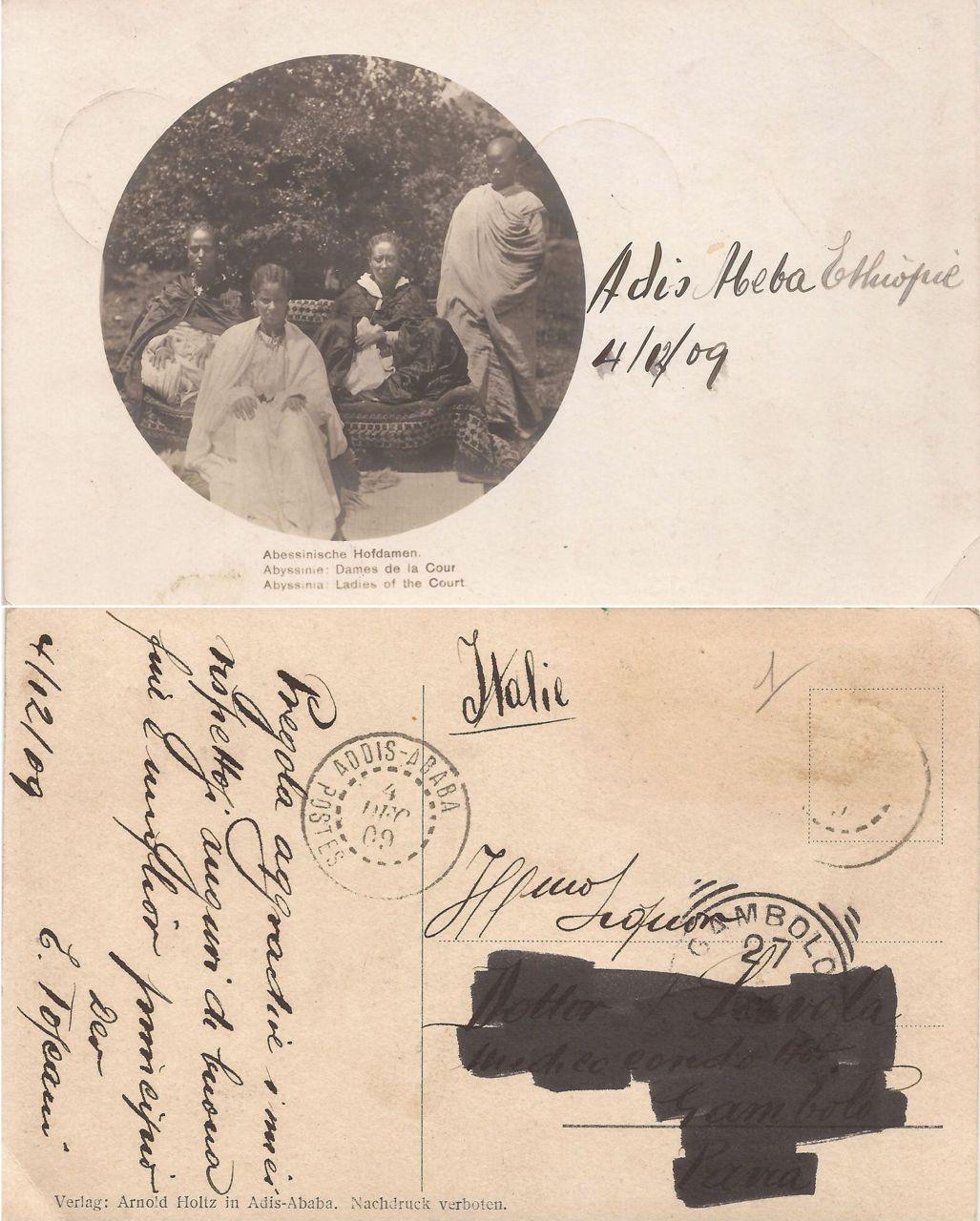 Adis Abeba 1909