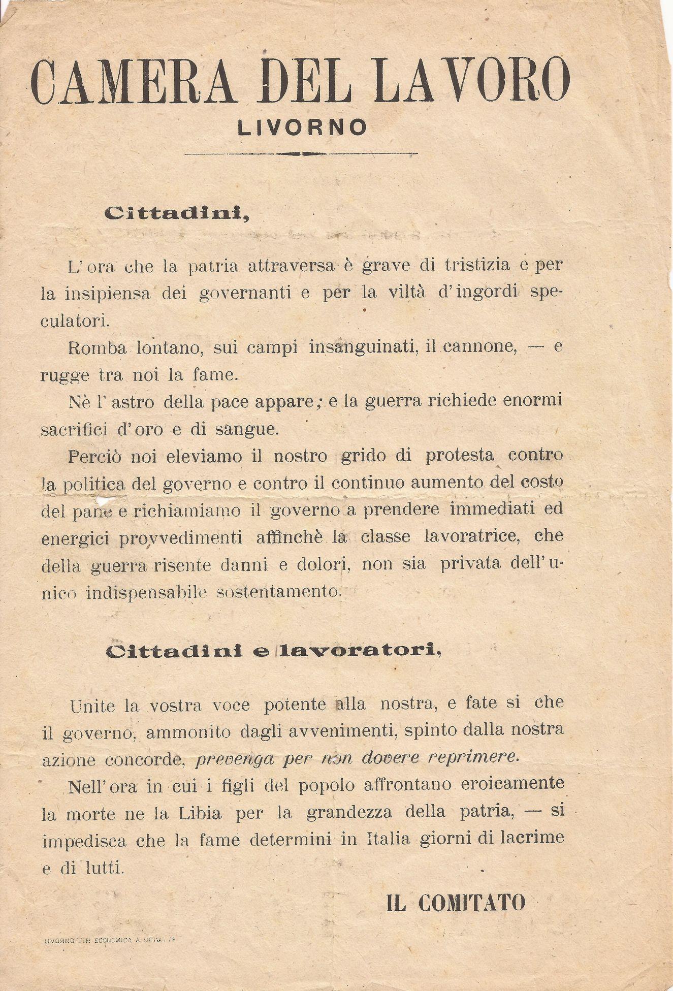 Camera del Lavoro di Livorno