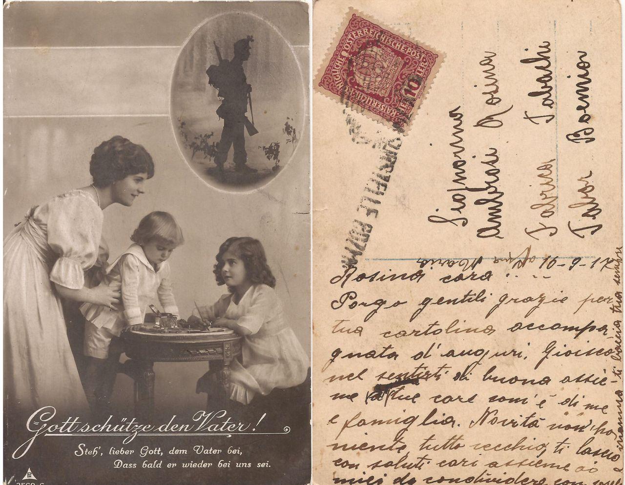 Cartolina austriaca 16 settembre 1917