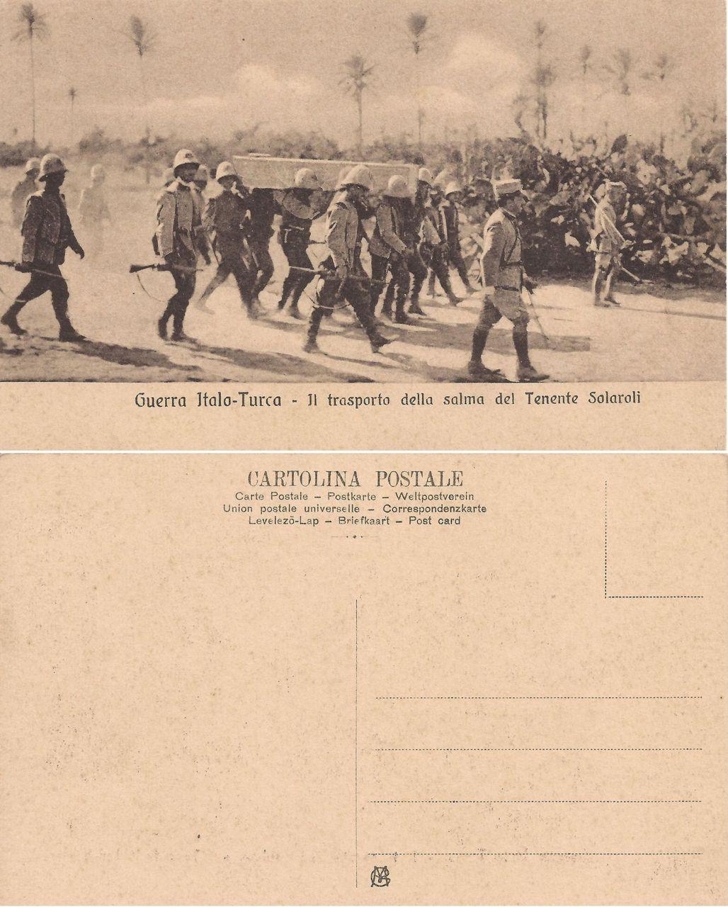 Guerra Italo - Turca - 01