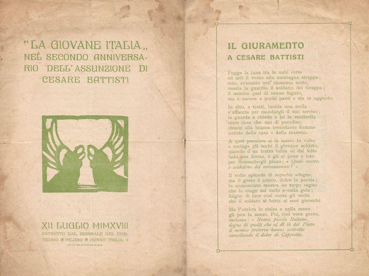 Il giuramento a Cesare Battisti - 01