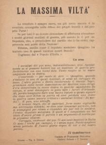 La massima viltà - Livorno Cantiere Orlando