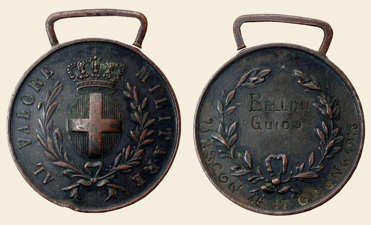 Medaglia B.V.M. Bellini Guido
