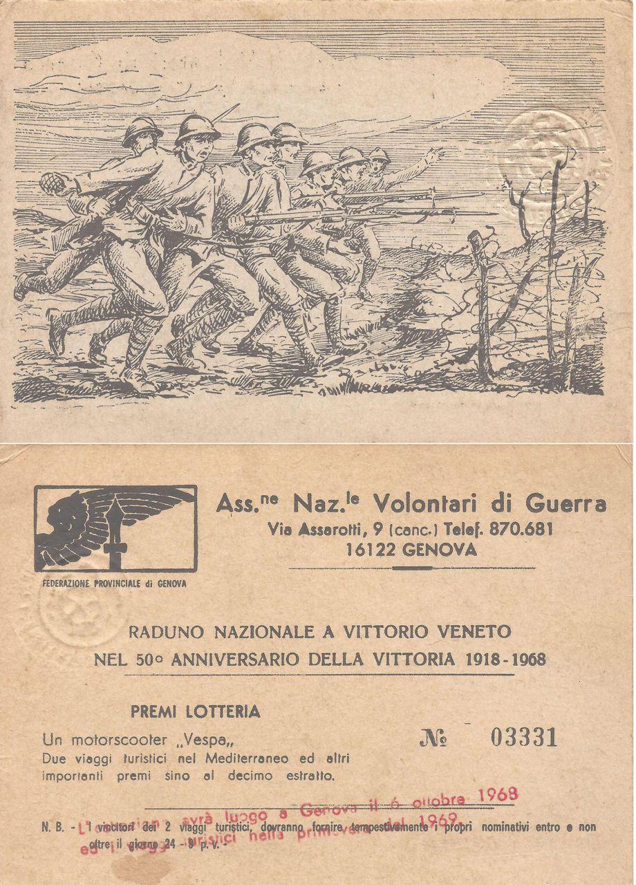Raduno Nazionale a Vittorio Veneto 1968