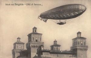 dirigibile città di Ferrara