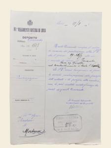 89° reggimento fanteria partecipazione morte Rosa Giuseppe