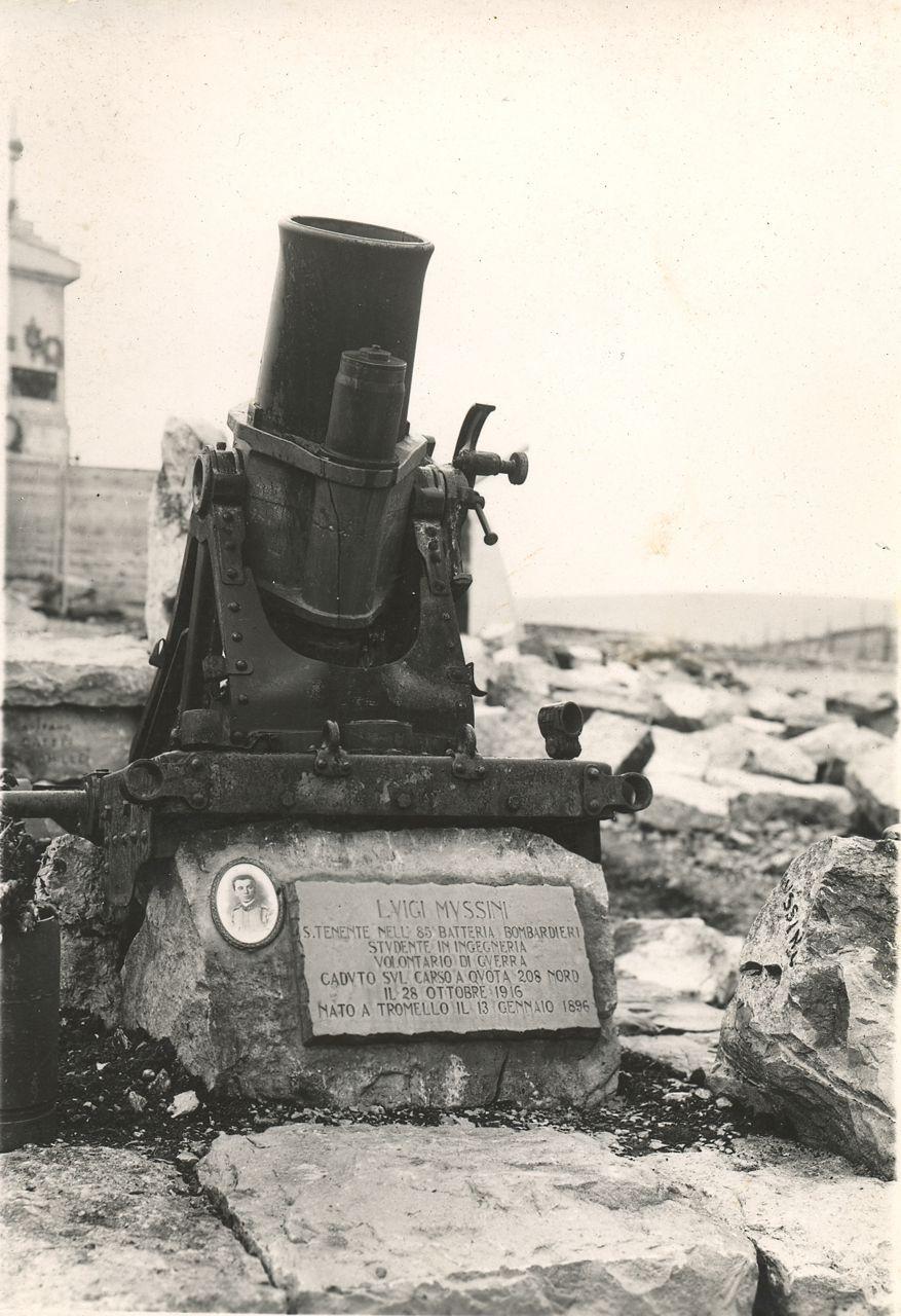 foto della sepoltura a Colle Sant'Elia