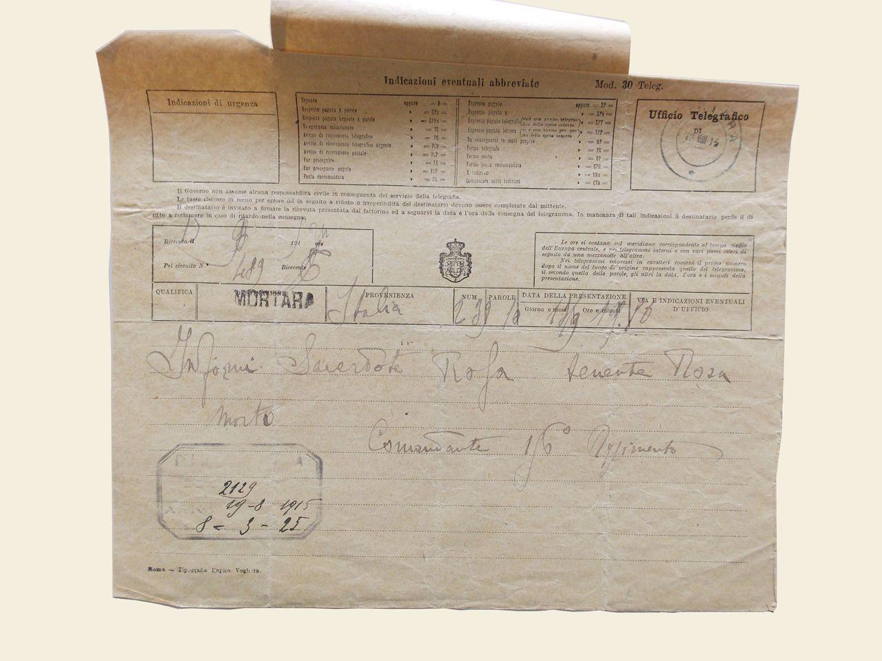 telegramma-avvenuto-decesso-rosa-giuseppe
