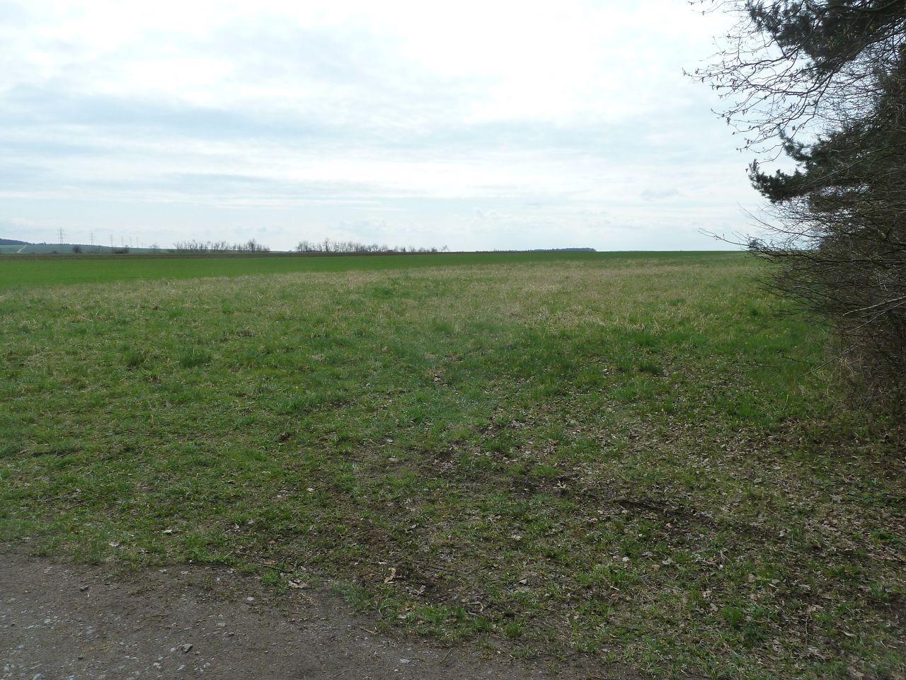 Area su cui sorgeva il campo