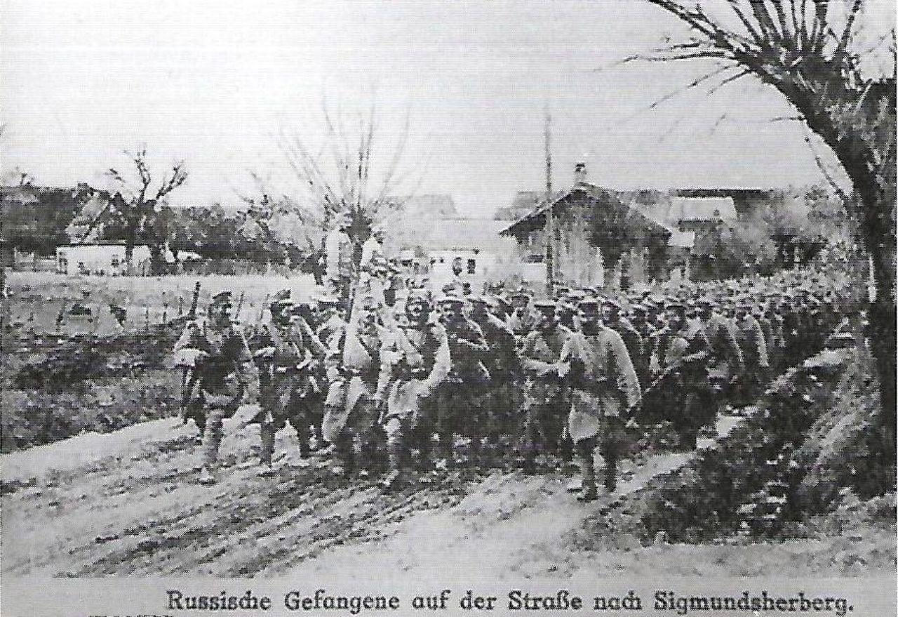 Arrivo di prigionieri dal fronte russo