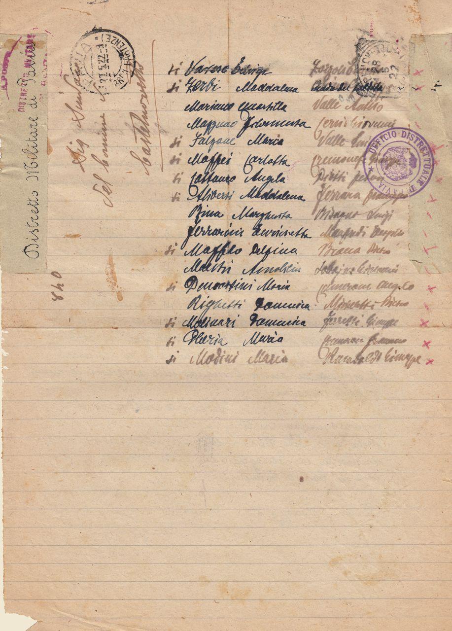 Circolare 840 del 25 maggio 1922 - b