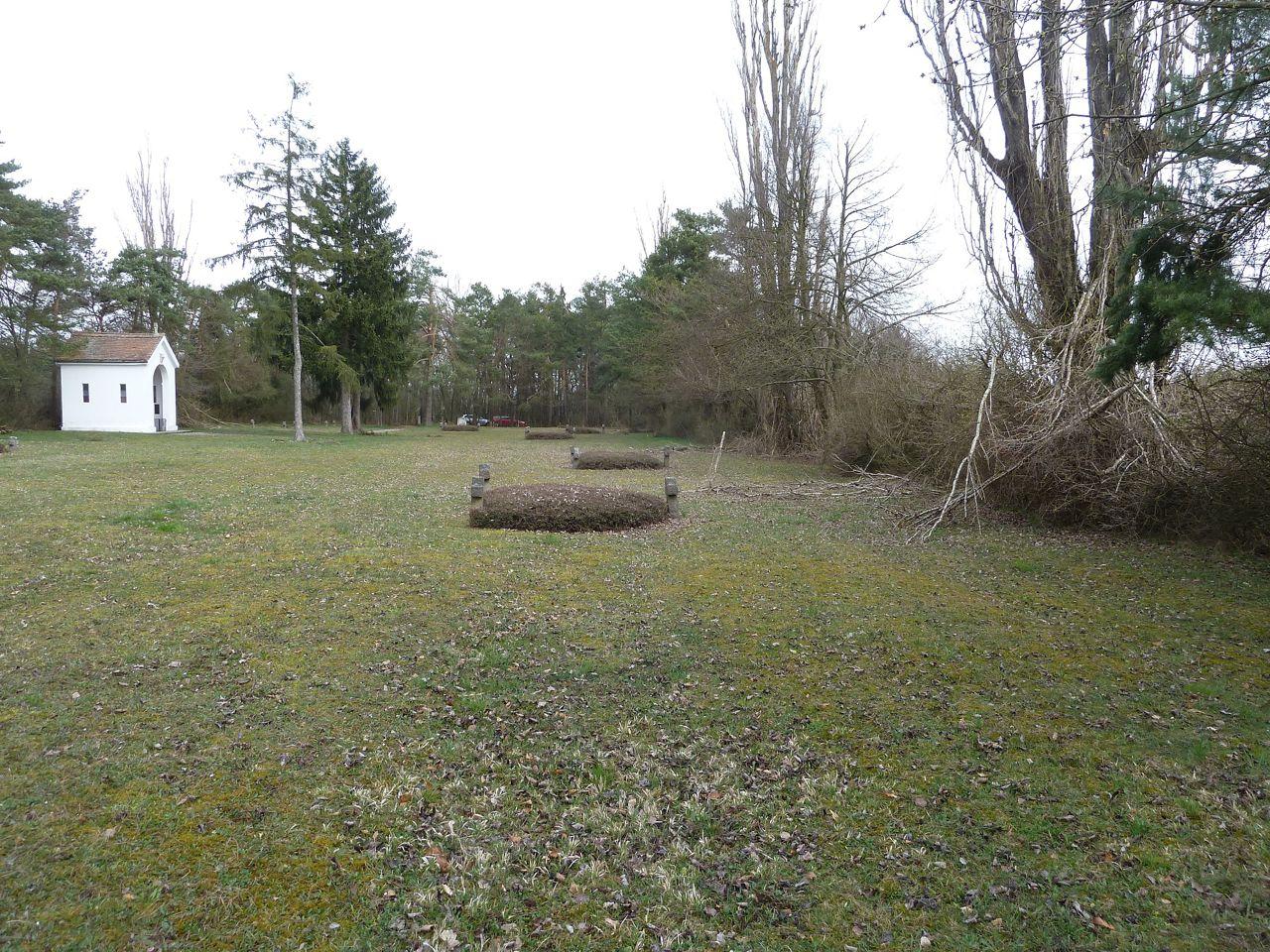 Interno del cimitero