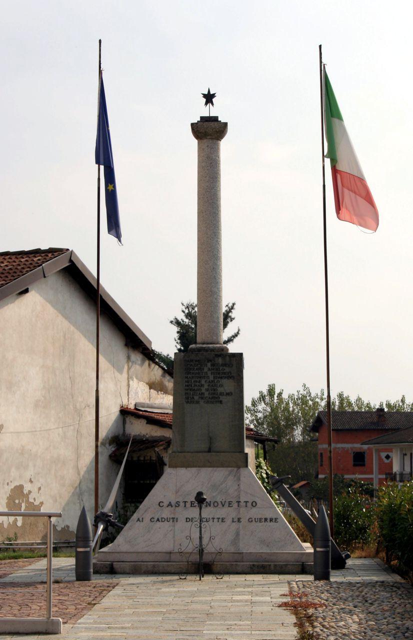 Monumento ai Caduti di Castelnovetto
