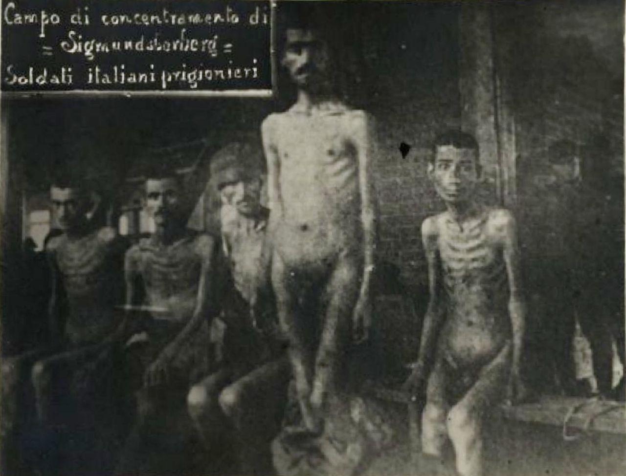 Soldati italiani prigionieri a Sigmundsherberg