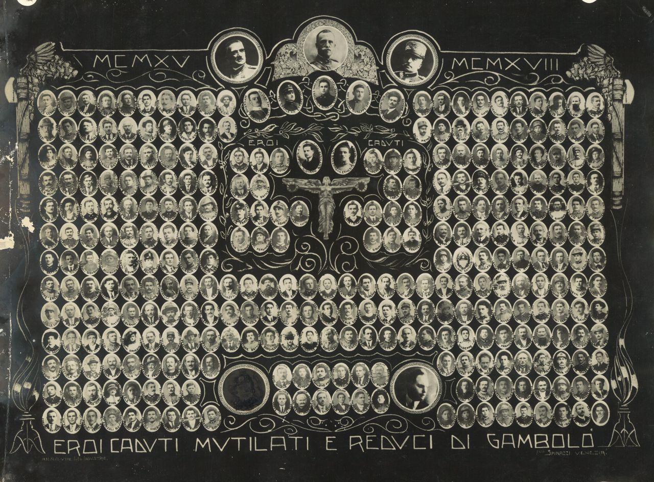 Quadro caduti e reduci di Gambolò