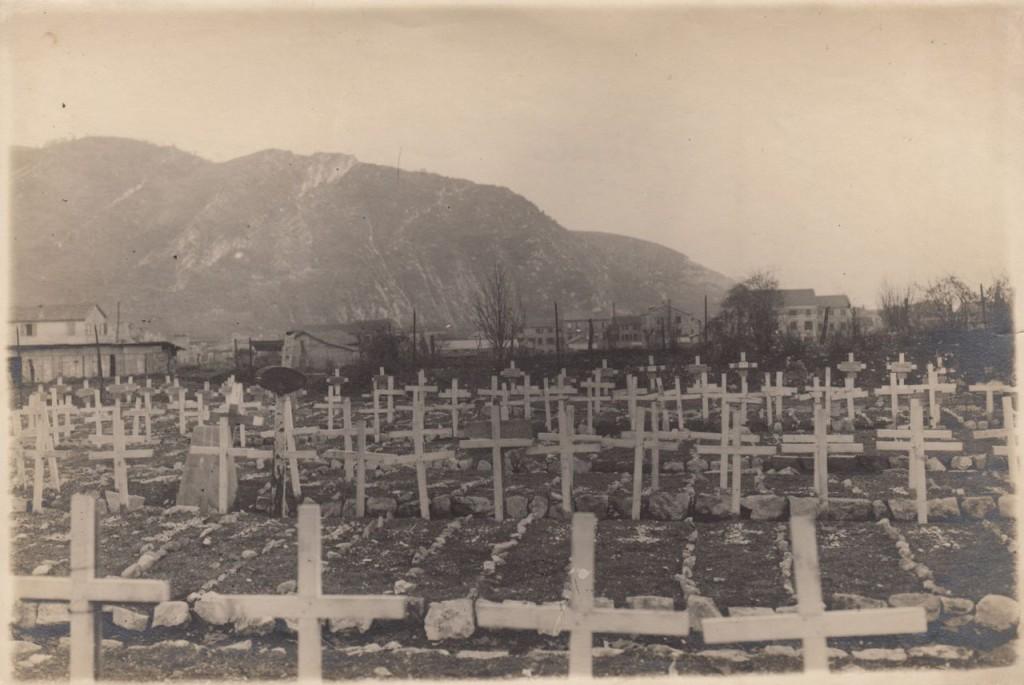 Il cimitero militare di Feltre (Belluno)